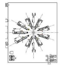Sistema de película plana (cast) de 17 capas