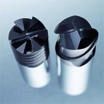 Fresa integral de metal duro para materiales templados