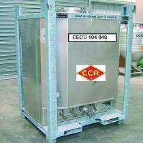 Alquiler de contenedores inox con calefacción vapor