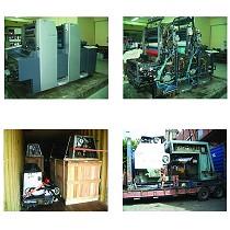 Reparación, montajes y traslados