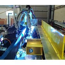 Robot de soldadura especial para aluminio