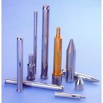 Tubos guía-hilo, agujas para inyección, fechadores, marcadores