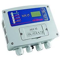 Unidad de control para detección gas