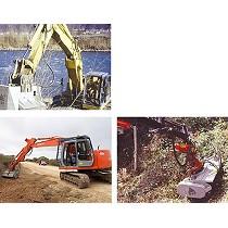 Trituradora para excavadoras