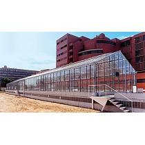 Invernadero de vidrio PW