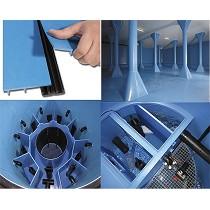 Sistema de revestimiento para almacenamiento de agua potable