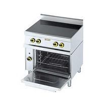 Cocina de 4 fuegos vitro