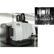 Centro de mecanizado vertical de 2 husillos