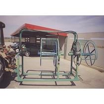 Recogedores de mangueras o goteros hidráulicos para tractor