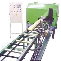 Maquina para mecanizar vigas