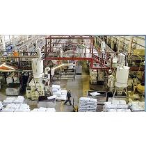 Proyectos de líneas completas de manipulación de sólidos