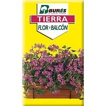 Tierra para plantas de flor y balcón