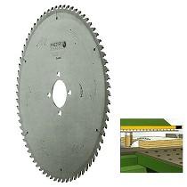 Sierra circular PCD para máquina seccionadora y escuadradora