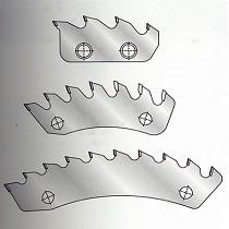 Segmentos de triturador PCD
