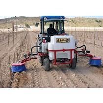 Aplicador de herbicida intercepas o interárboles