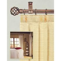 Barras de cortina de forja