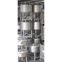 Transporte aséptico de líquidos viscosos
