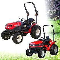 Tractores compactos de jardinería
