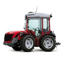 Tractor especializado articulado