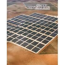 Parque solar modular