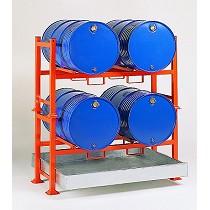 Soportes apilables para barriles
