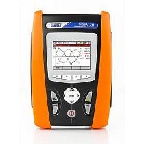 Analizador/registrador de redes eléctricas trifásicas