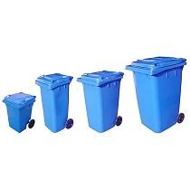 Contenedores para residuos de 4 ruedas