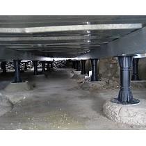 Soportes regulables para pavimentos flotantes