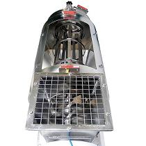 Tamizadora rotativa para eliminar contaminantes de productos secos