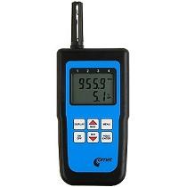 Termómetros, higrómetros y barómetros portátiles