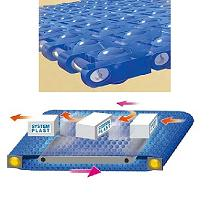 Malla modular plástica para lineas de envasado