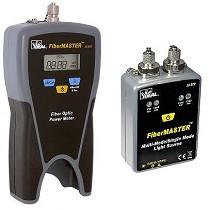 Medidores de potencia y fuente de luz para fibra óptica