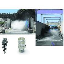 Boquillas para el tratamiento de aguas