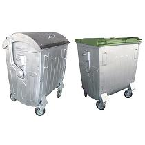 Contenedores metálicos para residuos de 1.100 litros