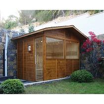 Saunas para exterior o jardín