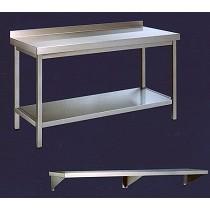 Mesas, estantes y platones