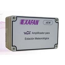 Amplificador para estación meteorológica