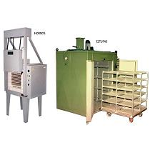 Hornos y estufas industriales