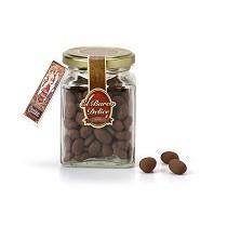 Bombones de pasas con chocolate