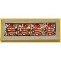 Napolitanas de chocolate negro