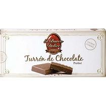 Turrones de chocolate praliné