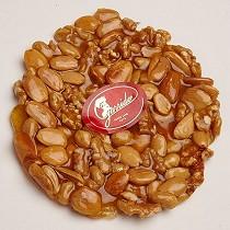 Tortas de nueces, cacahuete y almendra