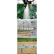 Carros de riego automático para invernaderos