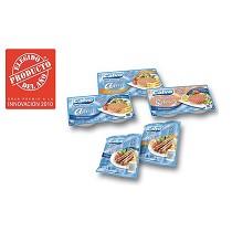 Salchichas y hamburguesas de atún