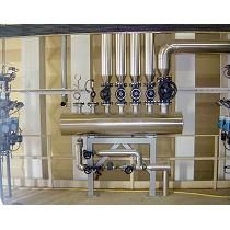 Rampas de acondicionamiento y regulación de vapor