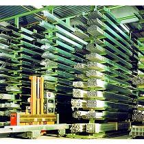 Estanterías industriales para almacenar metales