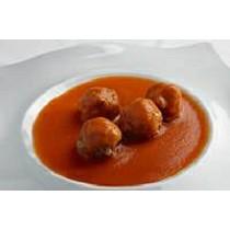 Albóndigas de ternera en salsa de tomate