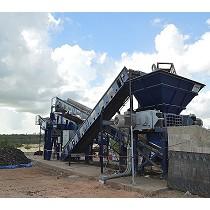 Cizallas para la trituración de residuos