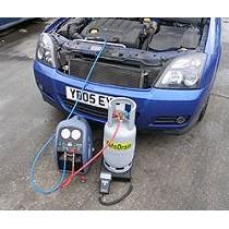Equipos para la extracción del gas refrigerante