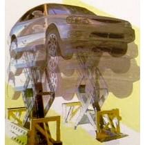 Elevadores en vehículos en desuso